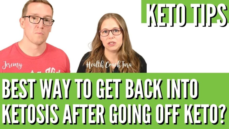 What's The Best Way To Get Back Into Ketosis After Going Off Keto