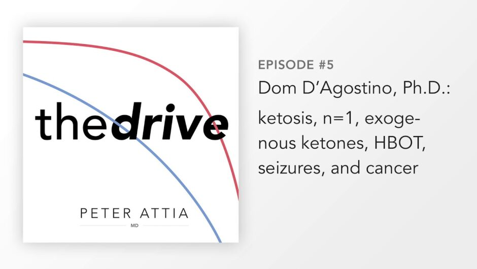 #05 – Dom D'Agostino, Ph.D.: ketosis, n=1, exogenous ketones, HBOT, seizures, and cancer